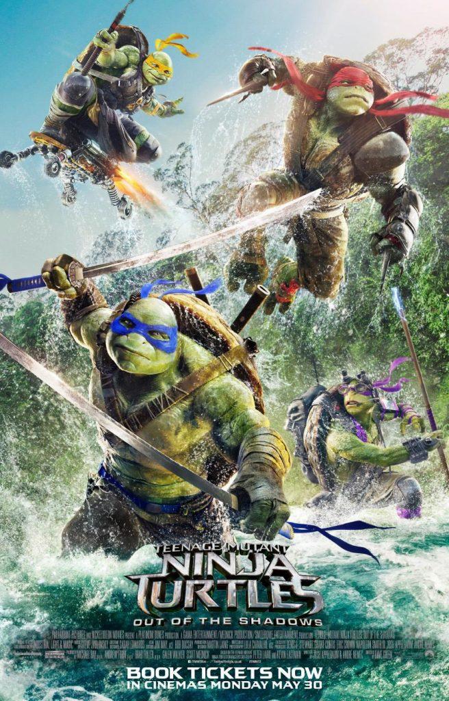 Teenage Mutant Ninja Turtles Out of the Shadows 忍者神龟2 破影而出 2016 MKV