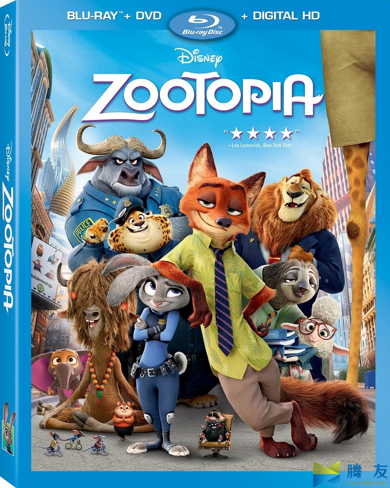 Zootopia 疯狂动物城 2016 MKV