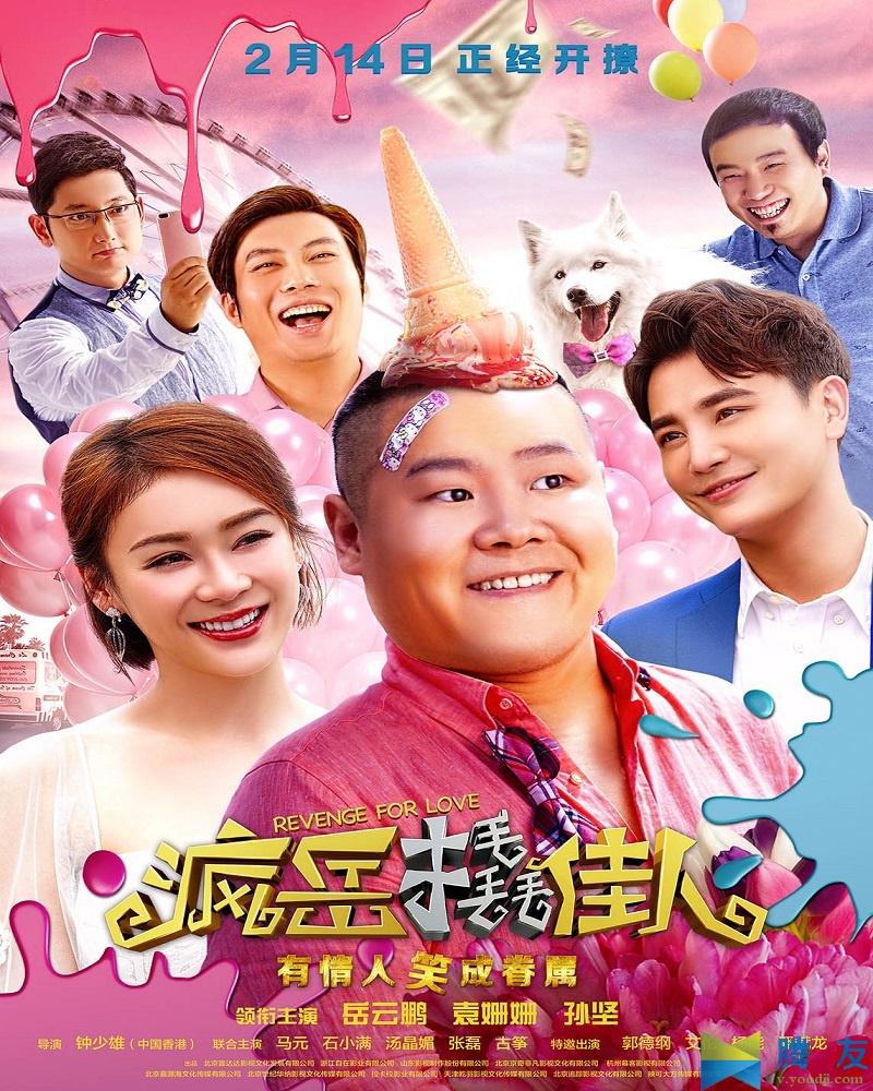Revenge for love 疯岳撬佳人 2017 MP4