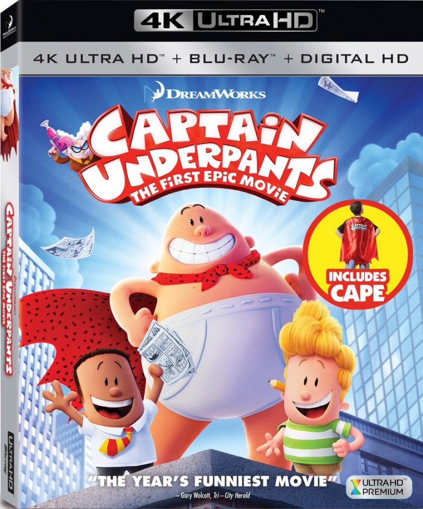 Captain Underpants The First Epic Movie 内裤队长 2017 MKV