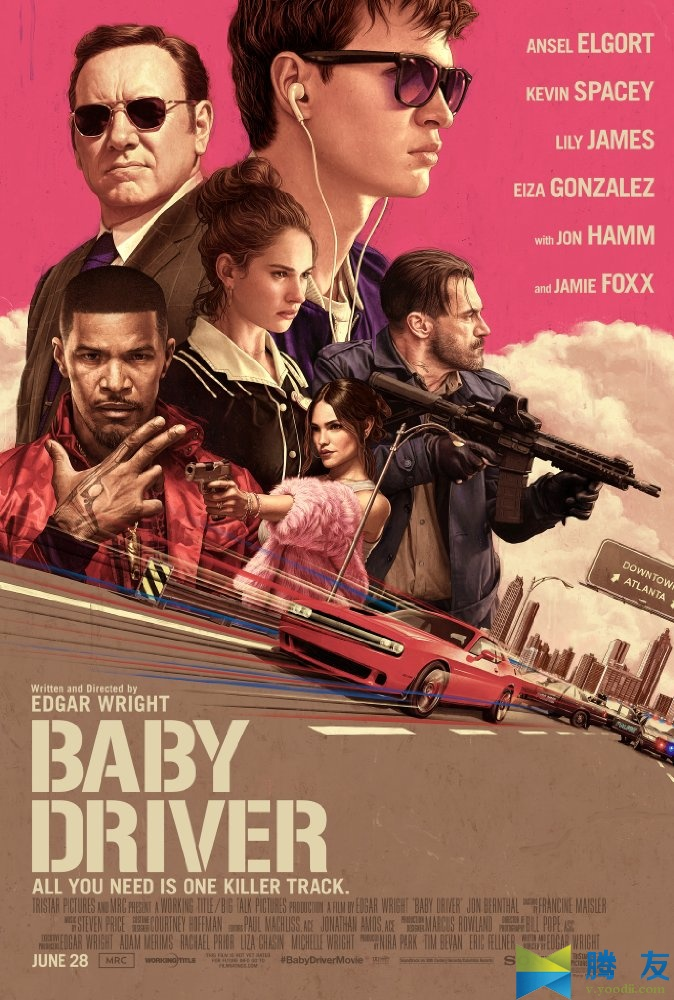 Baby Driver 极盗车神 2017 MKV
