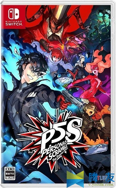 Switch游戏 Persona 5 Scramble: The Phantom Strikers  女神异闻录5 对决:幽灵先锋