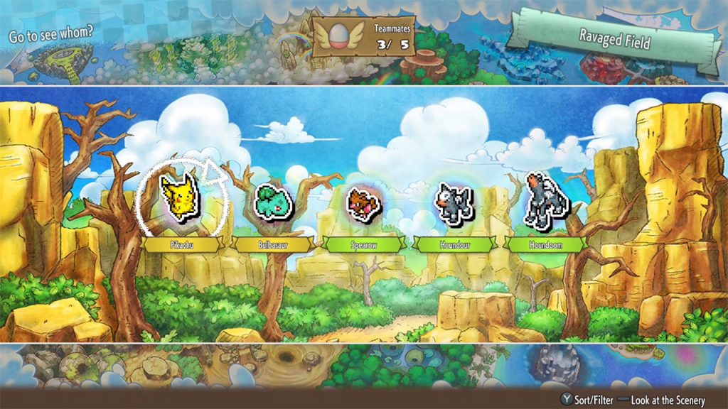 Switch游戏 Pokémon Mystery Dungeon™: Rescue Team DX  精灵宝可梦不思议迷宫