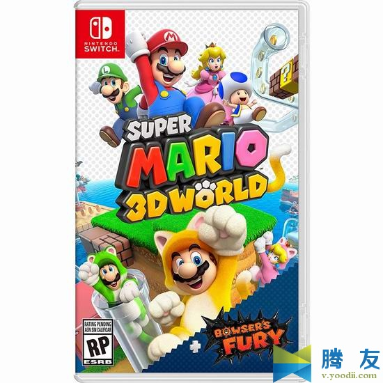 Switch游戏 Super Mario 3D World + Bowser's Fury XCI 超级马里奥 3D世界 + 狂怒世界