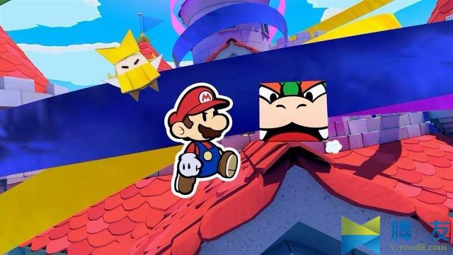 Switch游戏 Paper Mario The Origami King XCI 纸片马力欧 折纸国王