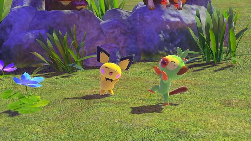 Switch游戏  New Pokémon Snap XCI New 宝可梦随乐拍